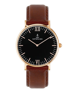 "Campus ""Black Brown Leather"" - kapten & Son - South Africa"