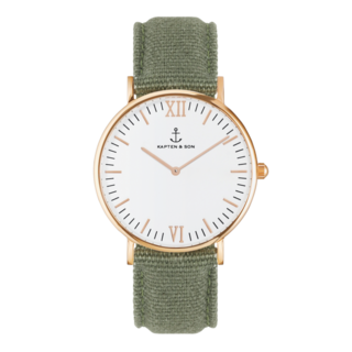 "Campus ""OLIVE"" Canvas - kapten & Son - South Africa"