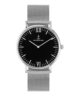 "Campus Silver ""Black Mesh"" - kapten & Son - South Africa"