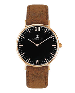 "Campus ""Black Brown Vintage Leather"" - kapten & Son - South Africa"