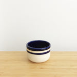 Round Cup, short, blue stripe