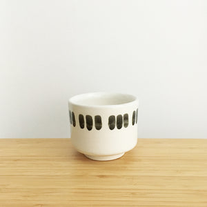 Chamfered Cup with Ring, triple lines