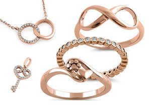 Rose Gold Plated Jewelry