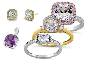 Cushion Cut Jewelry