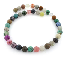Load image into Gallery viewer, 10mm Round Multi-Stones Gem Stone Beads