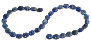 10x12MM Lapis Oval Gemstone Beads