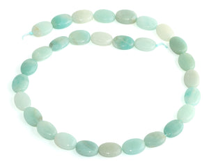 10x14MM Amazonite Oval Gemstone Beads