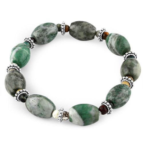 10X14mm Jade Melon Bracelet