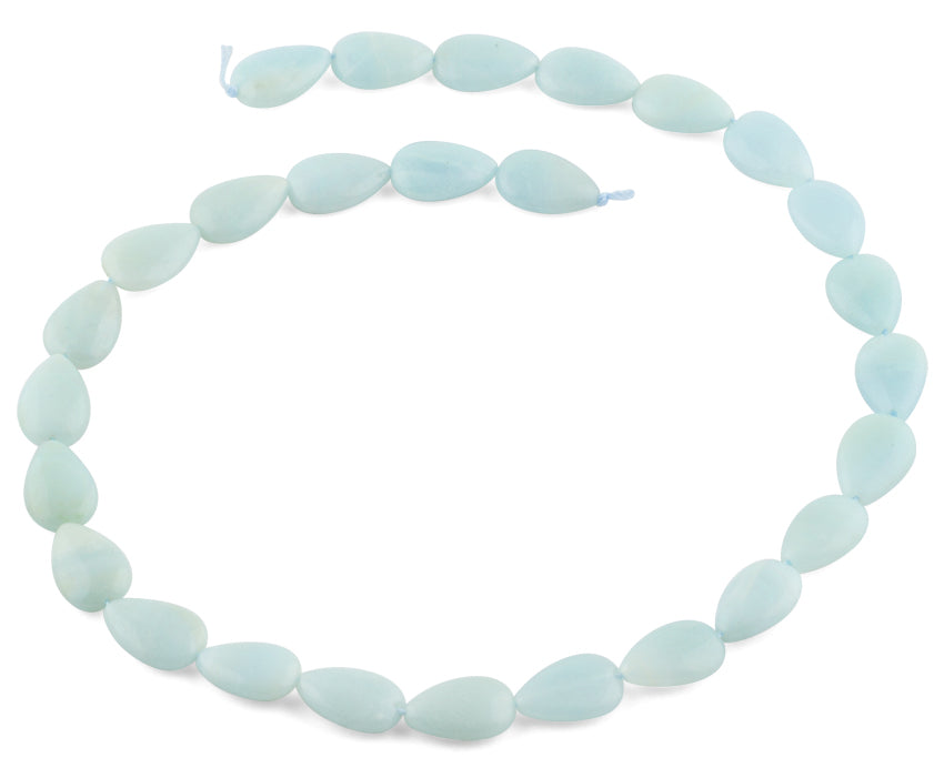 10x15MM Amazonite Drop Gemstone Beads
