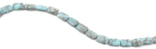 Load image into Gallery viewer, 11x15mm Turquoise Jasper Stone Rectangular Beads