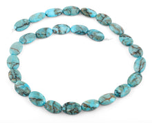 Load image into Gallery viewer, 11x16MM Turquoise Oval Gemstone Beads