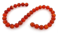 Load image into Gallery viewer, 12mm Red Agate Gem Stone Beads