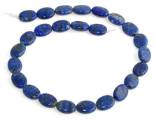 Load image into Gallery viewer, 12x16MM Lapis Oval Gemstone Beads