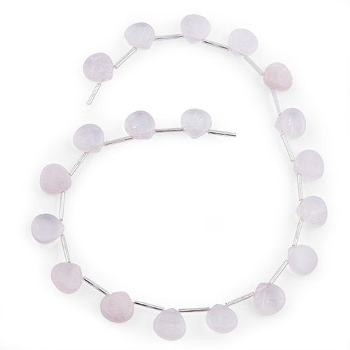 13MM Rose Quartz Drop Gemstone Beads