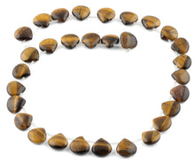 Load image into Gallery viewer, 13x13MM Tiger Eye Pear Gemstone Beads