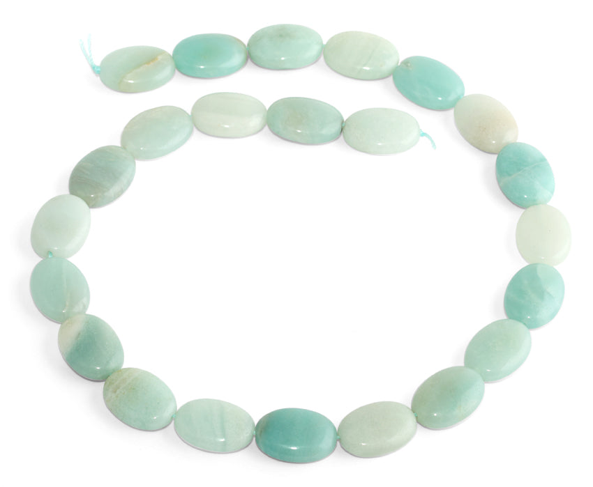 13x18MM Amazonite Oval Gemstone Beads
