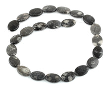 Load image into Gallery viewer, 13x18MM Bull Eye Jasper Oval Gemstone Beads