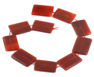 13x18mm Clear Rectangular Crystal Beads