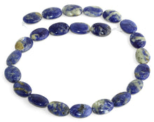 Load image into Gallery viewer, 13x18MM Sodalite Oval Gemstone Beads