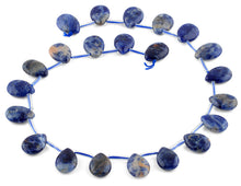 Load image into Gallery viewer, 13x18MM Sodalite Pear Gemstone Beads