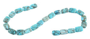13x18MM Turquoise Oval Gemstone Beads