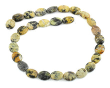 Load image into Gallery viewer, 14x11MM Yellow Turtle Jasper Puffy Oval Gemstone Beads