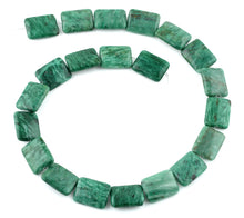 Load image into Gallery viewer, 15x20MM Brazil Rainforest Jasper Rectangular Gemstone Beads