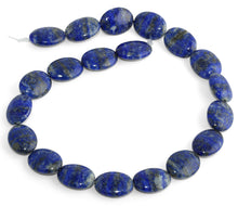 Load image into Gallery viewer, 15x20MM Lapis Oval Gemstone Beads
