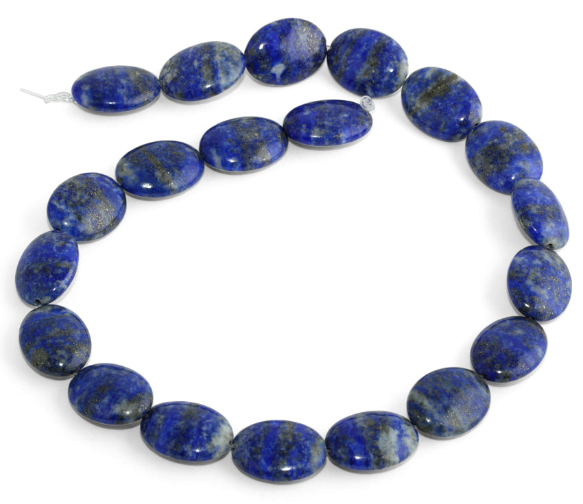 15x20MM Lapis Oval Gemstone Beads