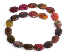 Load image into Gallery viewer, 15x20MM Red Turtle Jasper Oval Gemstone Beads