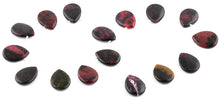 Load image into Gallery viewer, 18x25MM Red Turtle Jasper Pear Gemstone Beads