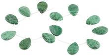 Load image into Gallery viewer, 20x30MM Brazil Rainforest Jasper Pear Gemstone Beads
