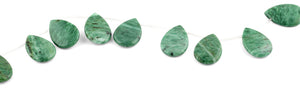 20x30MM Brazil Rainforest Jasper Pear Gemstone Beads