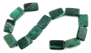 20x30MM Brazil Rainforest Jasper Rectangular Gemstone Beads