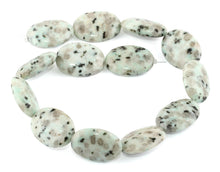 Load image into Gallery viewer, 22x30MM Sesame Jasper Stone Puffy Oval Gemstone Beads