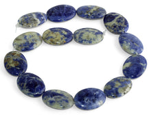 Load image into Gallery viewer, 22x30MM Sodalite Oval Gemstone Beads