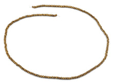 Load image into Gallery viewer, 2mm Gold Faceted Rondelle Crystal Beads