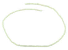 Load image into Gallery viewer, 2mm Light Green Faceted Rondelle Crystal Beads