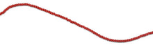 Load image into Gallery viewer, 2mm Scarlet Faceted Rondelle Crystal Beads