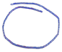 Load image into Gallery viewer, 3X6mm Blue Rectangle Faceted Crystal Beads