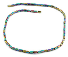 Load image into Gallery viewer, 3X6mm Rainbow Rectangle Faceted Crystal Beads