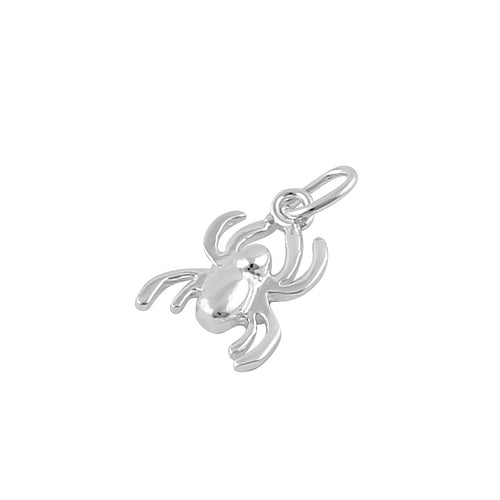 Sterling Silver Spider Pendant