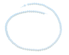 Load image into Gallery viewer, 4mm Opalite Round Gem Stone Beads