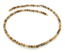 Load image into Gallery viewer, 4mm Picture Jasper Round Gem Stone Beads