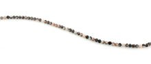 Load image into Gallery viewer, 4mm Pink Zebra Jasper Round Gem Stone Beads
