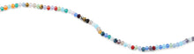 Load image into Gallery viewer, 4mm Rainbow Faceted Rondelle Crystal Beads