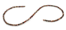 Load image into Gallery viewer, 4mm Red Leopard Skin Jasper Round Gem Stone Beads