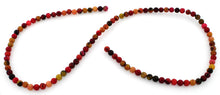 Load image into Gallery viewer, 4mm Red Turtle Jasper Gem Stone Beads