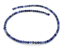 Load image into Gallery viewer, 4mm Sodalite Round Gem Stone Beads
