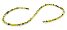 Load image into Gallery viewer, 4mm Yellow Turtle Jasper Round Gem Stone Beads